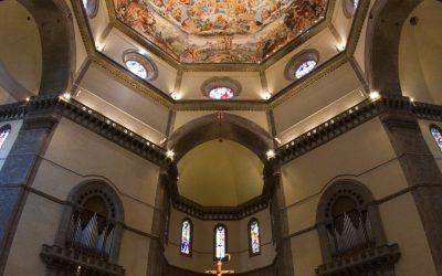 Santa Maria del Fiore Firenze - Panoramica verticale
